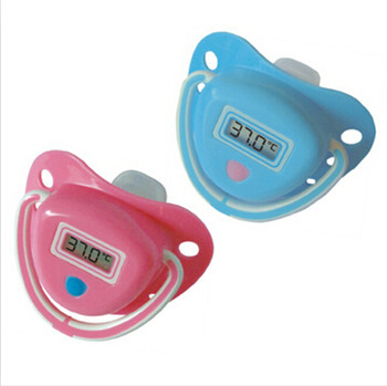 2014 ! 1PC Pink / Blue Color Infant Baby Digital Dummy Pacifier Electronic Thermometer Soother Trendy Safe,BP45 - Delicate store