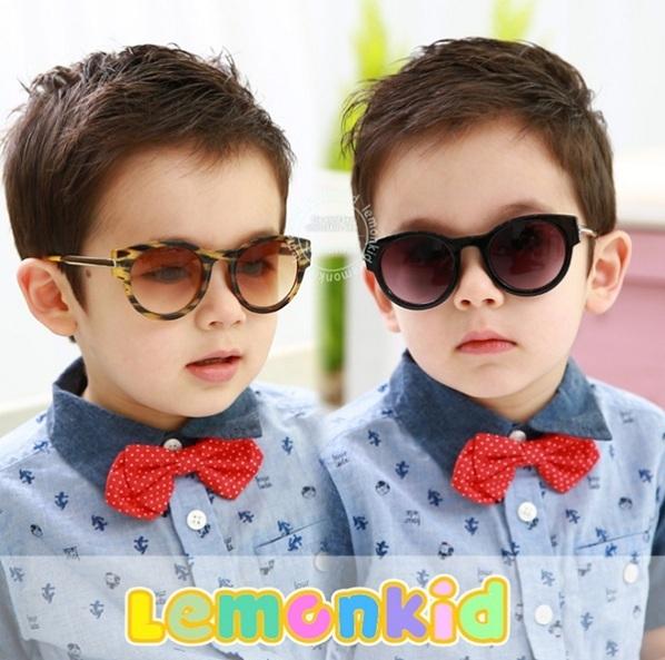 Мальчики солнцезащитные очки Красивый мальчик солнцезащитные очки Новый бренд дизайнер градиент очки отдых очки Корея дизайн óculos KS0043