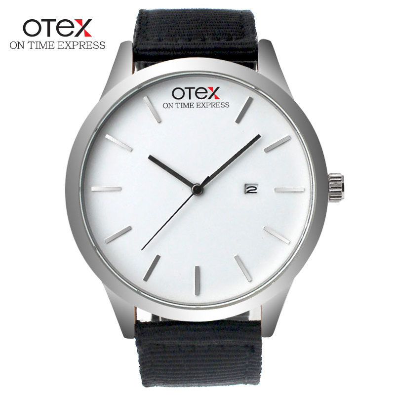 OTEX watch men's top luxury brand men's canvas watch Nylon popular quartz sports watch Men's Watch MAN(China (Mainland))