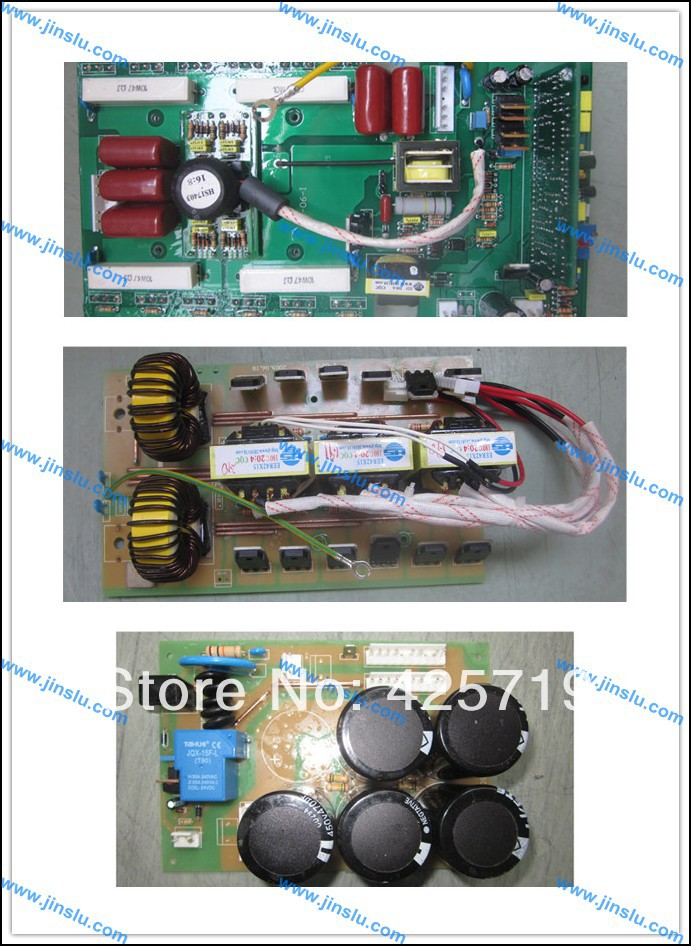 A set of MOSFET ARC200 inverter welder PCB, upper power PCB+ middle PCB+ bottom PCB(China (Mainland))