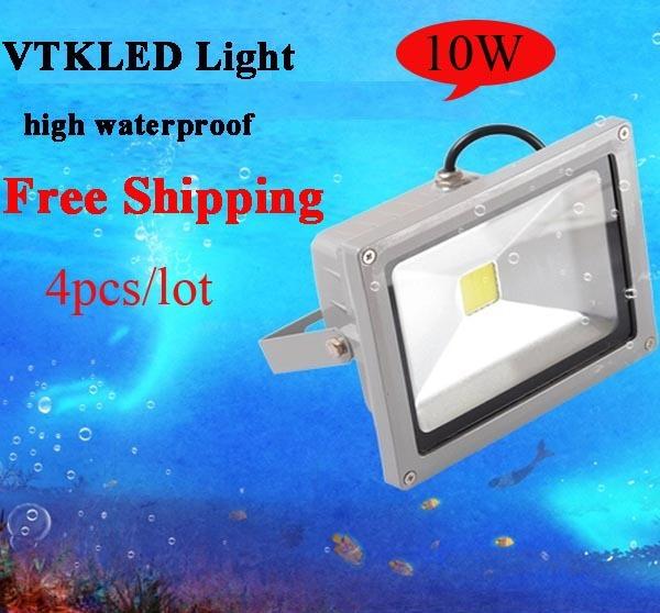 10W 85-265V High Power Flash Landscape Lighting LED Flood Light Floodlight Outdoor Lamp Free Shipping