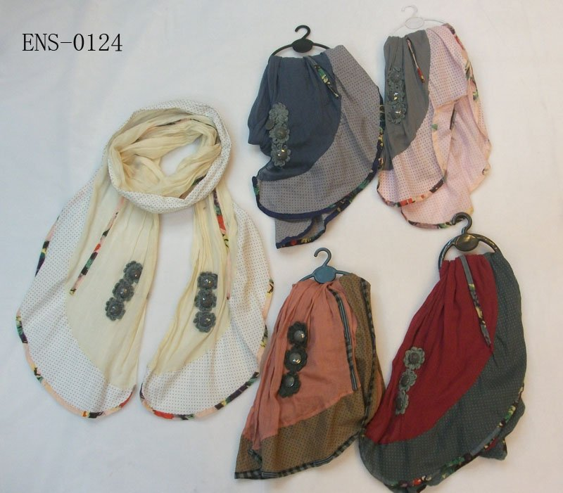 fashion scarf,fashion shawl,patchwork shawls,2011 new design - ELLEN FASHION ACCESSORIES store