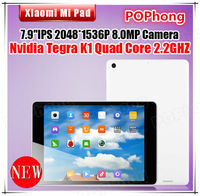 Xiaomi Mi Pad 64GB 7.9 '' 2048*1536 N-vidia Tegra K1 Quad Core Android Tablet 2GB RAM Camera 5MP+8MP