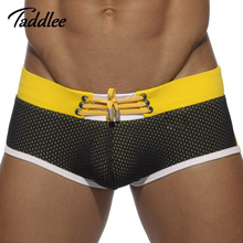 Taddlee Brand Men Swimsuits Sports Swimwear Swim Surf Wear Suits Basic Swimming Boxer Shorts Trunks 2016 Summer Male Boardshorts