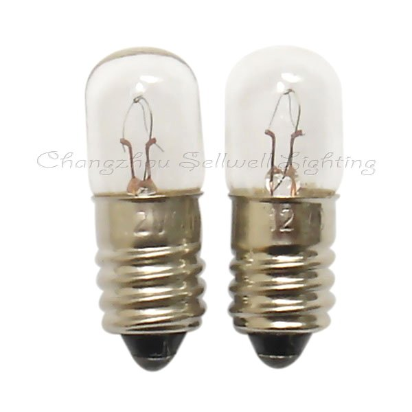 Free shipping 12v 0.11a e10 t10x28 NEW!miniature lamps lighting A298<br><br>Aliexpress