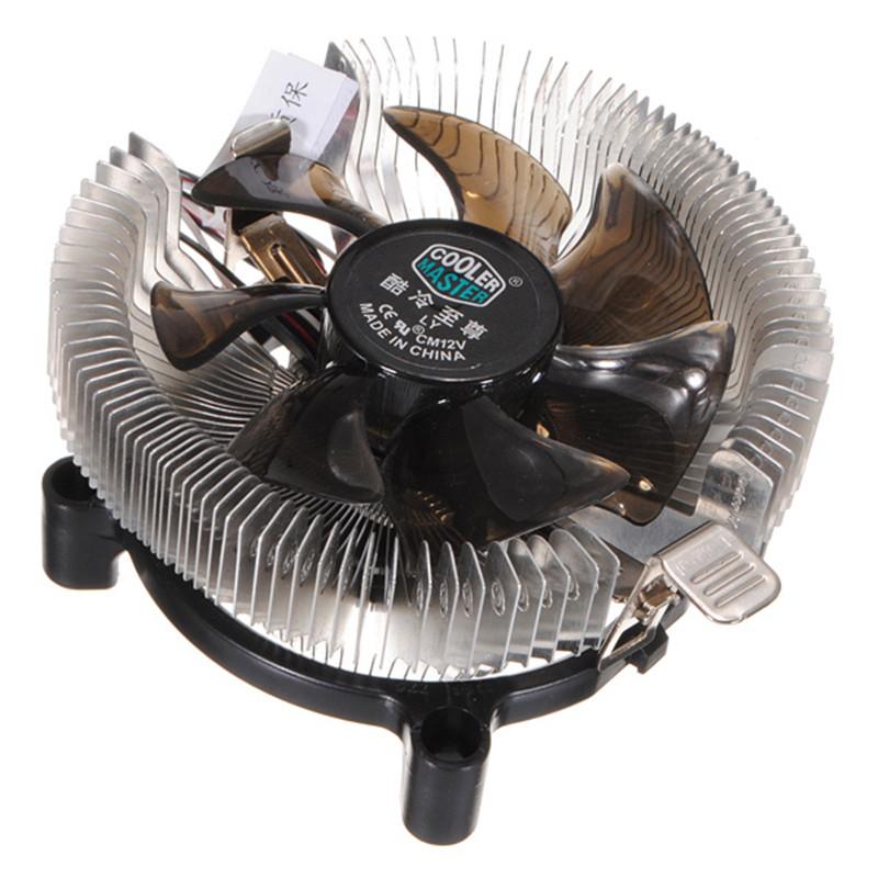Top Quality Silent Cooling Fan CPU Heatsink Falcon Bench Cooler Master CPU Computer Fan Cpu Fan Computer Component(China (Mainland))