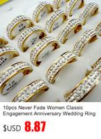 20шт вся нержавеющая сталь эмаль Модные кольца для женщин Бижутерия оптом пакет много lr351