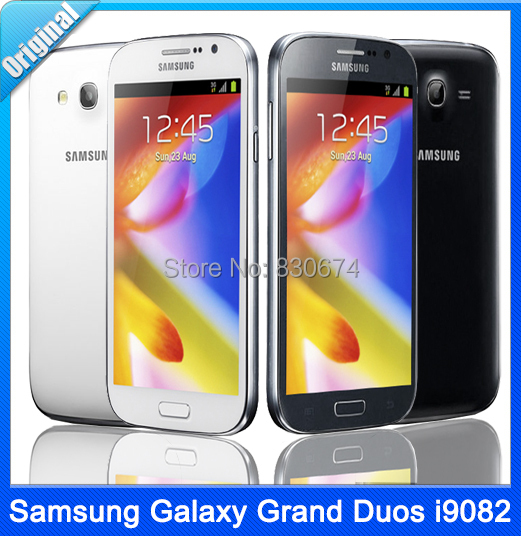 Samsung Galaxy Grand Duos I9082 Original Dual SIM Android OS 5.0 Inch Touch Screen 8MP Camera WiFi GPS Mobile Phone Dropshipping(China (Mainland))