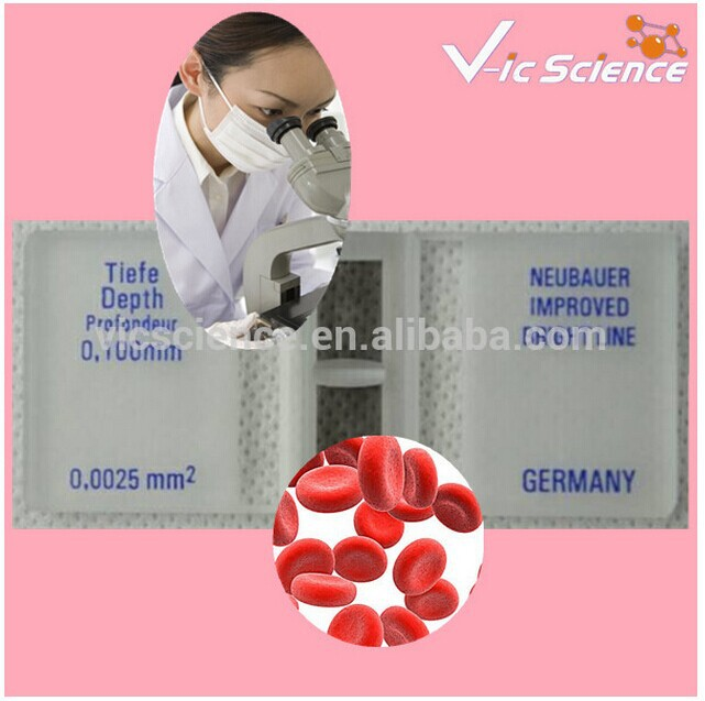 Physical Examination Blood Counting Chamber with Bright Line