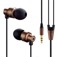 Original Stereo Bass earphone  Headphones Metal handsfree Headset 3.5mm Earbuds for all Mobile Phone mp3 Player(China (Mainland))