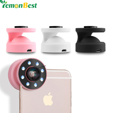 Buy Mini 8 LED Spotlight Camera Smartphone Led Flash Fill Light iPhone Android Devices External Flash Fill Selfie Light for $11.54 in AliExpress store