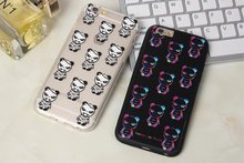 Buy Korea Super Popular GD Bear Panda Like Punk Bigbang Bear Matte Plastic Case Cover Iphone 6Plus 5.5inch for $3.69 in AliExpress store