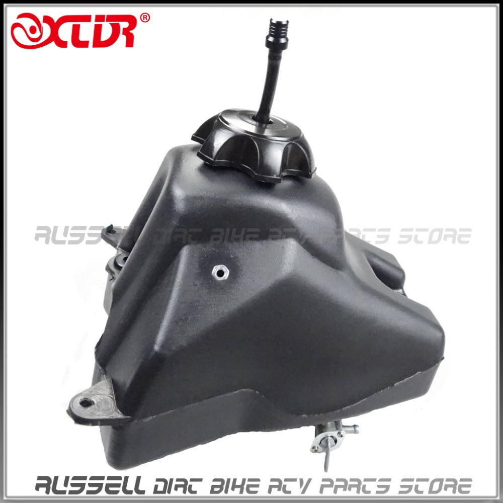 Plastic Fuel Tank Oil tank petcock for crf50 dirt pit bike Parts off road motocross(China (Mainland))