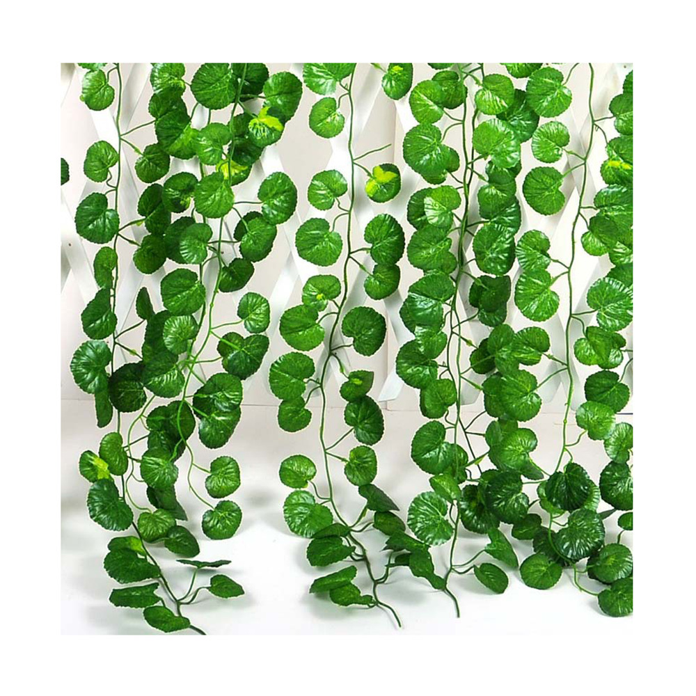 12pcs crabapple leaf fake artificial ivy vine home wall for Artificial leaves for decoration