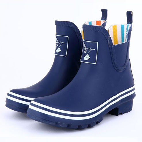 original brand Fashion Women Rain Boots Female Ankle low High Heel Boots Rain Waterproof Wellies Boots Women Rubber Water Shoes