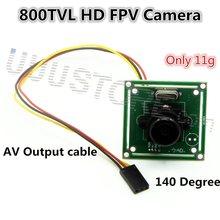 2015 New High Quality 800TVL 140 Degree 2.1MM Mini CCD LENS FPV Camera For RC QAV250 Helicopter DJI phantom 2 FPV Photography