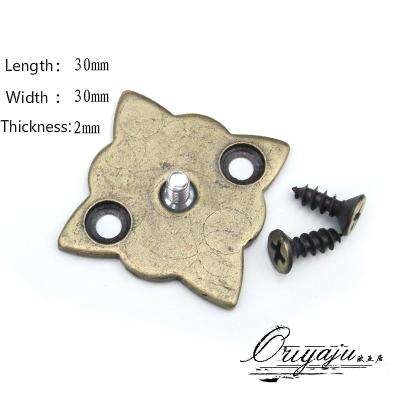 10Pcs Antique Bronze Cabinet Handle Knob Front parts Front accessories(Sizes:30mm * 30mm) <br><br>Aliexpress
