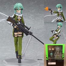 Anime sword art online 2 Figma241 Sinon Asada Sao 2 PVC Action Figure Collection Model Toys