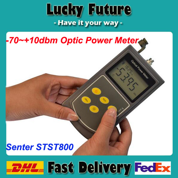 Senter ST800 China Supplier Fiber Optic Power Meter Telecommunication Test Tool(China (Mainland))