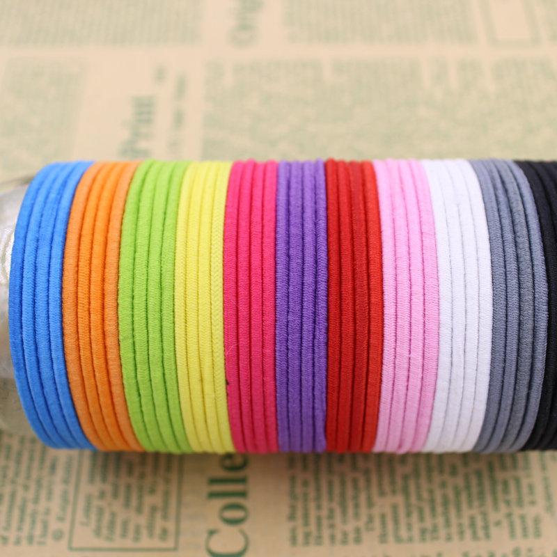 Brand(KAKU) 20pcs/bag Certified Products 2015 New 4.5CM Hair Holder Rubber Bands Hair Elastic Accessories Girl Women Tie Gum(China (Mainland))