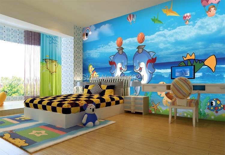 room kids 39 room tv setting wall bedroom wallpaper 3d photo wallpaper