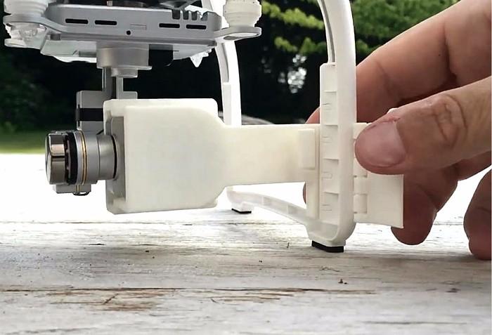 DJI Phantom 3 Accessories PTZ camera protective cover anti-loose fixation