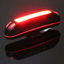 Buy 100LM LED USB Rechargeable Head light Flashlight Bicycle Lights Bike Rear Tail Lamp Bicycle Accessories for $6.80 in AliExpress store