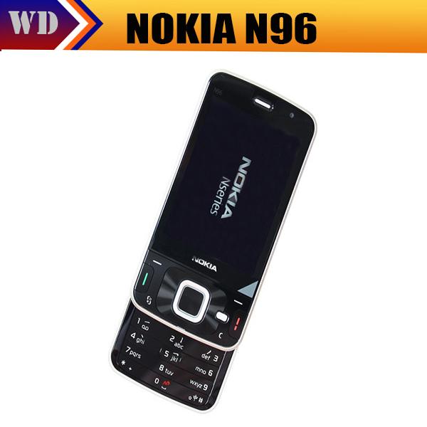 N96 Original Mobile phone Nokia N96 16GB Storage 3G WIFI GPS Camera 5MP Fast Free Shipping(China (Mainland))