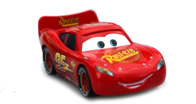 Pixar Cars No.95 mc queen Metal Diecast Toy Car 1:55 miniaturas toys brinquedo menino kid toy cars car baby toy 1pcs(China (Mainland))