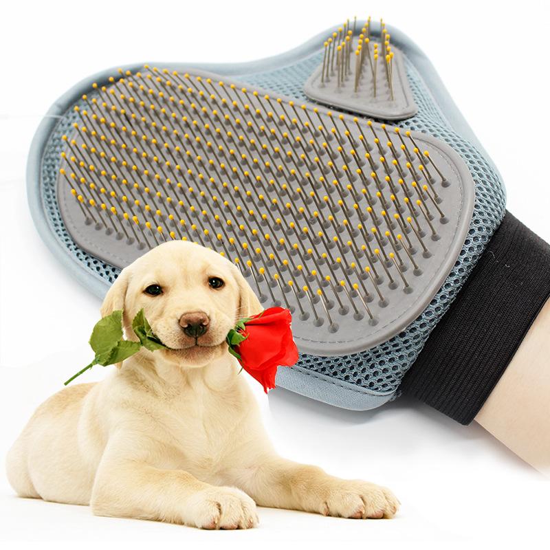 2016 Pet Comb Rubber Pet Massage Bath Brush Bath Brush Pet Dog Supplies Promote Blood Circulation Brush(China (Mainland))