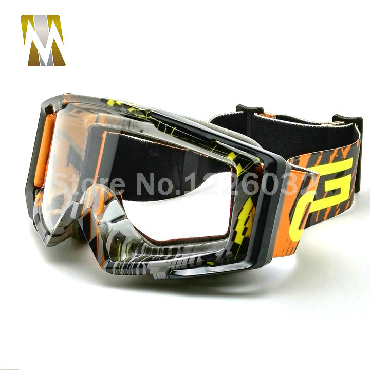 2016 New Motocross Goggles UV400 Motorcycle Cycling Glasses Eyewear Helmet MX Motocross Motorbike Cross Country Flexible Gafas(China (Mainland))