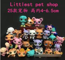 Littlest Pet Shop 25 pieces set Animals PVC mini Figure toy Cartoon & Animantion gift movie