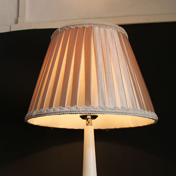 30cm Large Pleated Fabric Lampshade, CONTEMPORARY decorative lamp shades for table lamps(China (Mainland))