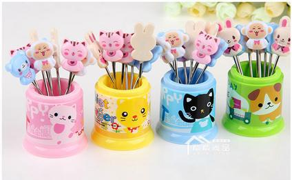 Здесь можно купить  8 Pieces in 1 set Cute fork Pound Party Nails Toothpicks : Reusable Toothpicks Party Picks  Дом и Сад
