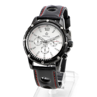 Mg orkina watches chronograph mens watch strap watch 3