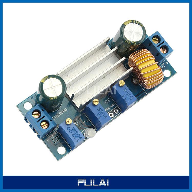 DC-DC 6V/12V/24V Adjustable Buck Converter 4.5-30V 0.8-30V 5A Step Power Supply Module LED Drive - PLILAI store