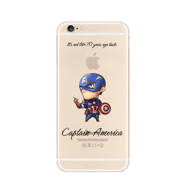 Superhero cases for iPhone 6/6s