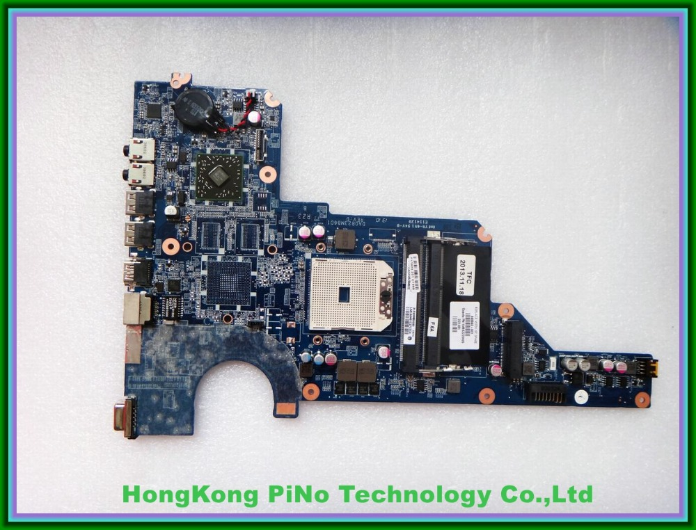 Free Shipping 649948-001 For HP Pavilion G7 G6 G4 serise motherboard DA0R23MB6D1 REV:D 100% Tested 60 days warranty(China (Mainland))