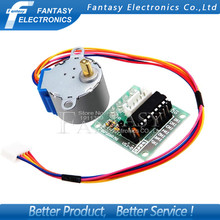 Buy 1pcs 5V 4-Phase Stepper Step Motor + Driver Board ULN2003 drive Test Module Machinery Board Arduino new Free for $1.99 in AliExpress store