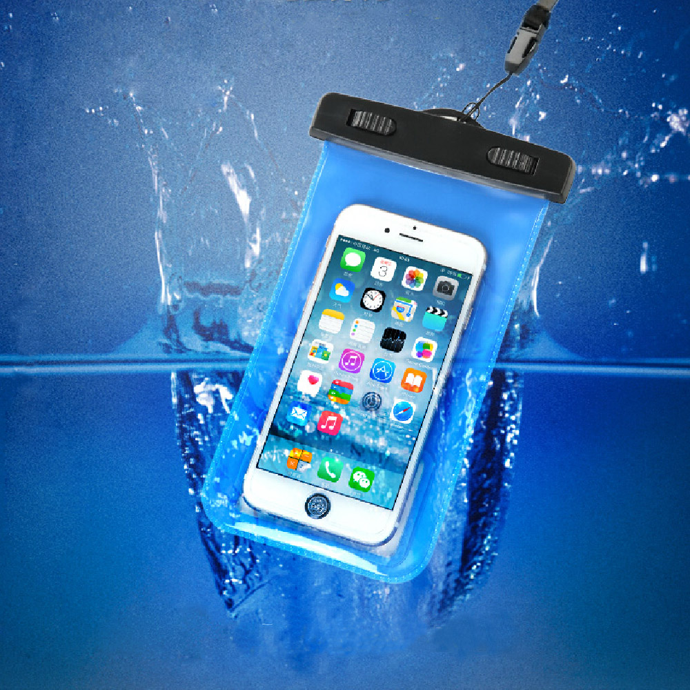 100% Sealed Waterproof Pouch Mobile Phone Cases Waterproof Bags for iPhone 6 6 Plus 5S 5C 5 4S Samsung Galaxy S6 S5 S4(China (Mainland))