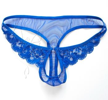 Man Men's sexy sheer transparent lace thongs g-string panties briefs t back panties open crotch jockstrap gay underwear pink red