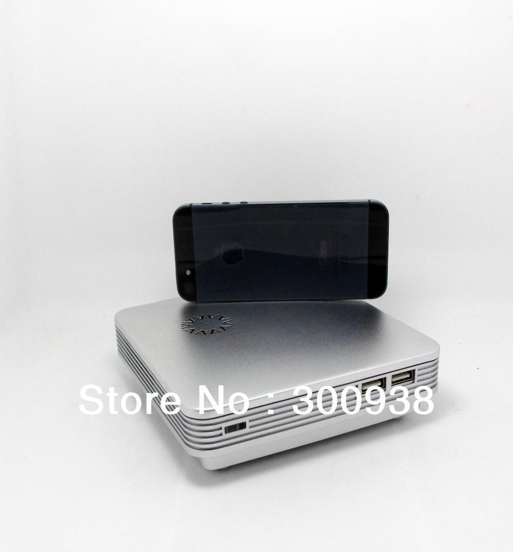 The Smallest Thin Client Mini PC Desktop Computer With Celeron 1037U Dual Core 1.8Ghz CPU 2GB RAM 16G SSD WIN7 HDMI Black(Hong Kong)