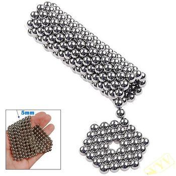 <h2> 216 x 5mm Magic Magnet Magnetic DIY Balls Sphere Neodymium Cube Puzzle Toy </ h2>