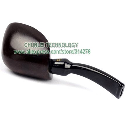 Free shipping New Best Wooden Ebony Tobacco Smoking Pipe Pipes