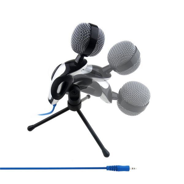 2015 High Quality Professional Studio Speech Mini Computer USB Microphone Mic With Stand Holder For PC Laptop(China (Mainland))