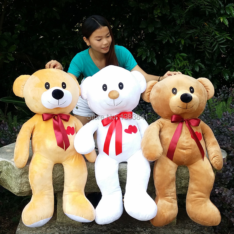 Plush toy Large birthday gift Bear stuffed toys girl friend Thanksgiving gifts Halolween gifts(China (Mainland))