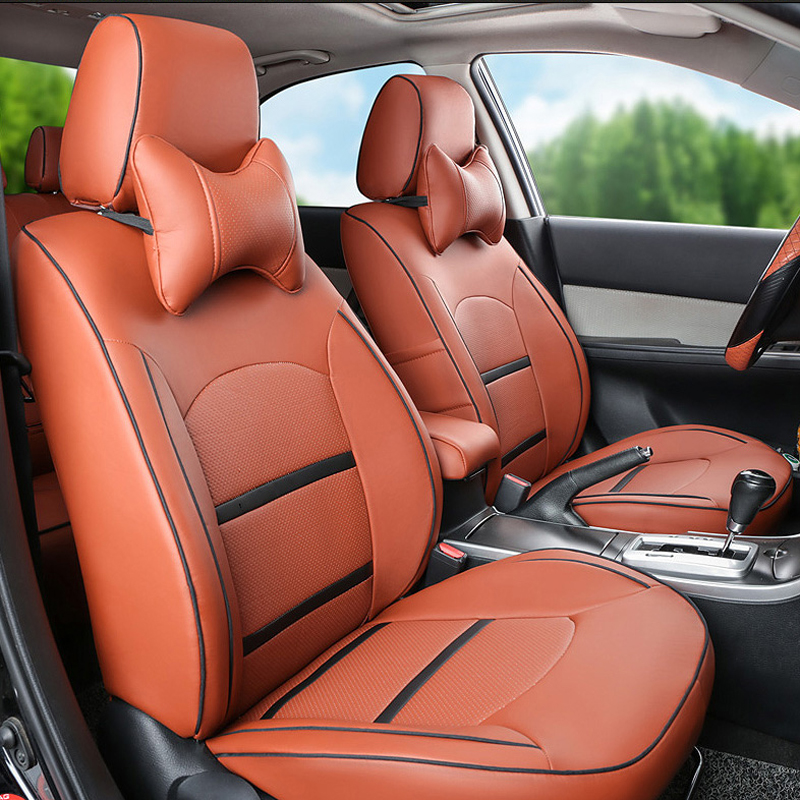 PU leather seat cover for volkswagen sharan car seat covers interior accessories full set car covers for vw car seats cushions(China (Mainland))