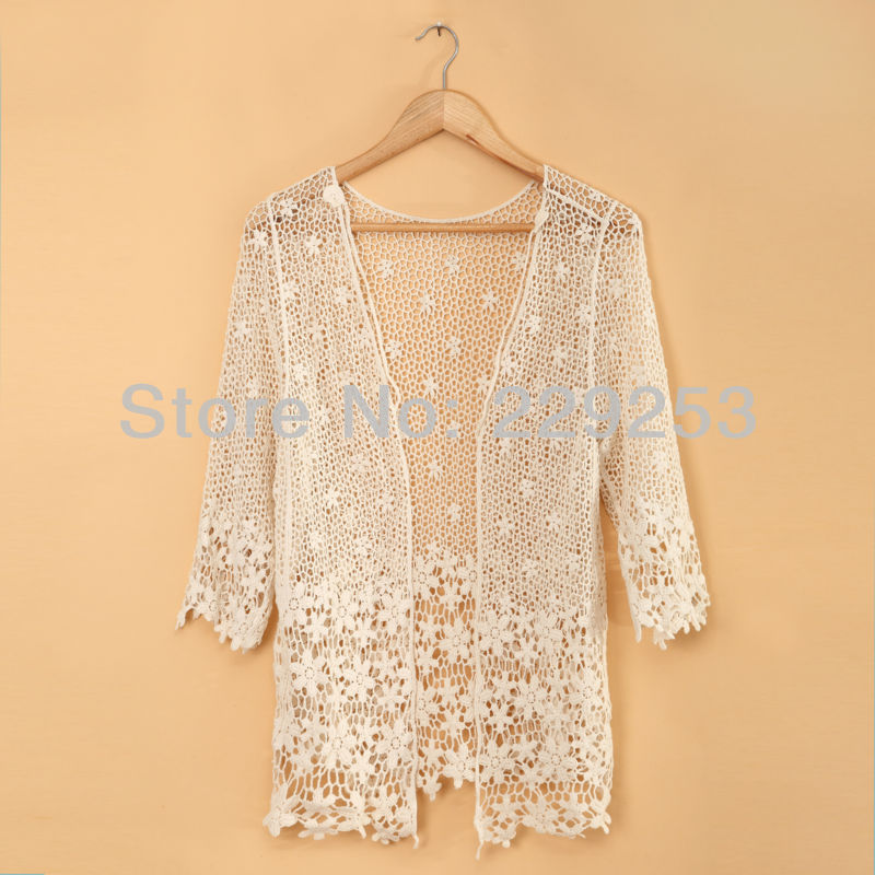 Crochet Flower Cardigan Pattern ~ SquareOne for .