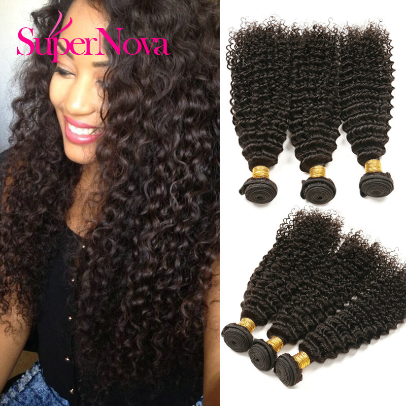 Spernova Mogolian Kinky Curly Hair natural color No Mix Any Synthetic Hair fast shipping Mongolian Kinky Curly Hair(China (Mainland))