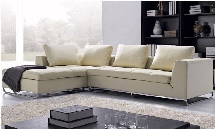 leather l shaped corner modern sofa set 2013 new design sofas set